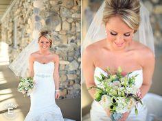 http://www.makemefabulous.com #bride, #hair, #wedding hair, updo, blonde, side swept bangs, bridal makeup, wedding makeup, natural, classic, elegant, Elario Photopgraphy, Make Me Fabulous