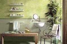Litokol_Starlike_bathroom_green  ⊚ pinned by www.megwise.it #megwise #viral