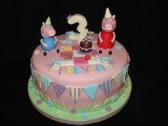 Peppa Pig Birthday Cake Ideas | Peppa George Pig Fondant Cake Ren Birthday Cakes