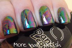 Oil slick on my nails | More Nail Polish #nail #nails #nailart #nailpolish