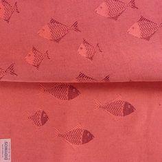 Didymos Fish Coral linen