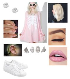 """Untitled #2761"" by vanessa898 ❤ liked on Polyvore featuring Iron Fist, adidas Originals and ALDO"