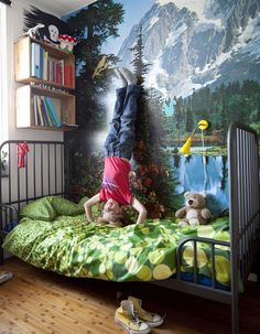 Kid Inspiration - All for the Boys - Room Inspiration