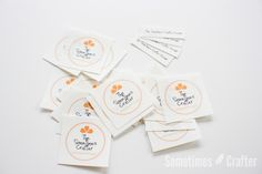 A few of you asked about my labels, and how I created them I thought I could dedicate a small post to that question. For the labels in the last few posts I used Illustrator to create the design an...
