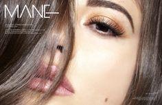 """Mane"" for Satellite Magazine Photography: Corina Marie Howell Model: Elicia Perkins @ Next Models Makeup: Ash Mathews Hair: Monica Escalante"