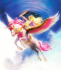 She-Ra Princess of Power artwork by Earl Norem Pegasus, Cartoon Tattoos, She Ra Princess Of Power, Old Cartoons, Galaxy, Magical Girl, Fantasy Creatures, Comic Art, Fantasy Art