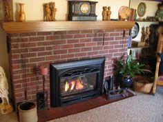 Valor Legend G3 739JLN Gas Fireplace Insert Installed in corner