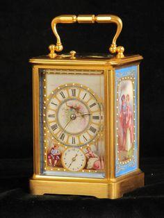 Photo in 5976 Classic Clock Design Ideas Antique Pendulum Wall Clock, Antique Wall Clocks, Old Clocks, Harry Potter Clock, Unusual Clocks, Classic Clocks, Carriage Clocks, Retro Clock, Clocks For Sale