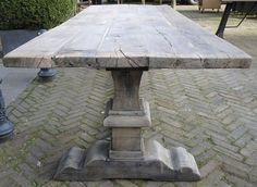 Oud eiken Klooster tafel