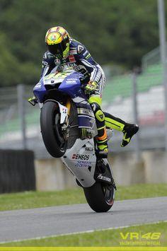 Rick: vind het mooi om naar motor race te kijken