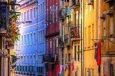 Fotos Impressionantes e Curiosas: Rua da Condessa [ao Largo do Carmo] - Lisboa (Port...