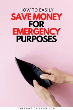 Wondering how to save money especially for an emergency? I'll show you how to save easily for financial emergencies and just to have extra savings in general. Find out if the Dave Ramsey Baby Steps actually work. You can finally get in control of your money using the proven method, Baby Steps. Learn all the best tips and ideas on how to get out of debt fast and save quickly. Stop living paycheck to paycheck! | The Practical Saver | #daveramsey #babysteps Best Money Saving Tips, Money Saving Challenge, Saving Money, Make Easy Money, Ways To Save Money, Save Money On Groceries, Managing Your Money, Dave Ramsey, Budgeting Finances