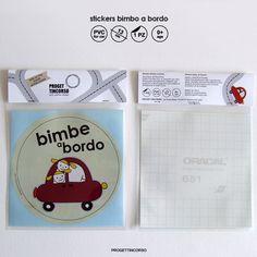 stickers bimbo a bordo by progettincorso