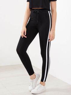 3c88c3d87a2b4 21 Best Striped Leggings images | Stripes, Moda femenina, Striped pants