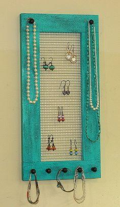 Framed Jewelry Holder