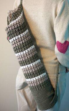 Crochet yoga carrying mat pattern, in finnish, use translate.