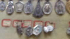 salesman sample of religious medals