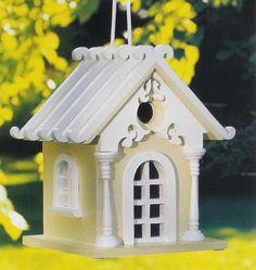 victorian birdhouses | fairy cottage birdhouse