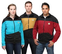 Star Trek TNG Track Jacket $29.99 (50% off) @ ThinkGeek