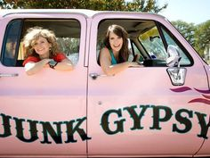 Junk Gypsies: My new favorite obsession.  Check out their show on HGTV  Sat. at 7.