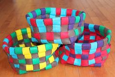 Esta cestinha de feltro é multiuso (Foto: archive.feedblitz.com)