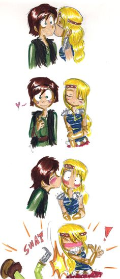 Why Hiccup doesn't make a move by shadowpiratemonkey7.deviantart.com on @deviantART