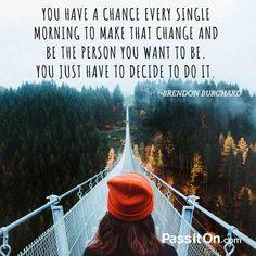 #believeinyourself #passiton