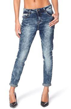 Cool VERO MODA Jeans Maxi antifit Bl? slidt VERO MODA Underdele til Dame i lækker kvalitet