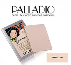 3 Pack Palladio Beauty Rice Paper RPA2 Translucent  //Price: $ & FREE Shipping //     #hair #curles #style #haircare #shampoo #makeup #elixir