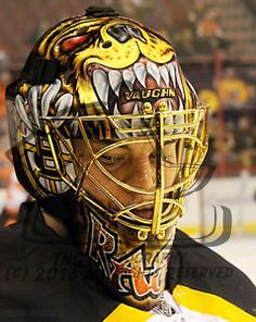 NHL Hockey Goalie Tuukka Rask of the Boston Bruins - Goalie Mask Print  Unsigned 8x10 Photo Metallic Art Print 0557 |