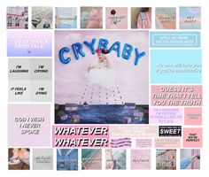 """""""Crybaby Album Edit"""" by always-a-cat ❤ liked on Polyvore featuring art"""