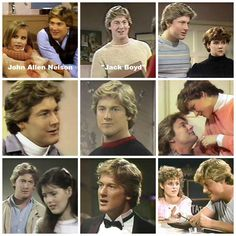 """Happy Birthday to John Allen Nelson. He has been a very active actor since the 1980s. He is probably best known as Warren Lockridge on Santa Barbara. He starred as the title character in the low-budget 1987 comedy-fantasy """"Hunk"""". He also starred in the 1988 cult/sci-fi movie """"Killer Klowns from Outer Space"""". He was also in the early seasons of """"Baywatch"""". BUT-He got his start on """"The Edge of Night"""" as Jack Boyd. The jock/fratboy at Wellington College. (In the left hand corner, his is…"""
