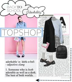 """Get Adorkable with Topshop: Contest Entry"" by bubbles009baby on Polyvore"