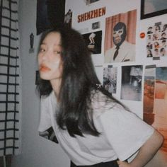 Korean Aesthetic, Bad Girl Aesthetic, Aesthetic Photo, Aesthetic Pictures, Asian Model Girl, Asian Girl, Very Pretty Girl, Long To Short Hair, Western Girl