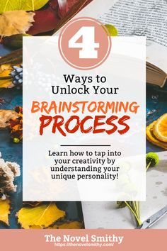 Rather than trying to follow some universal brainstorming system, you can discover and craft your own unique system by figuring out what sparks your creativity and inspires you to write. But, where do you start? Well, first you'll need to find your brainstorming triggers.
