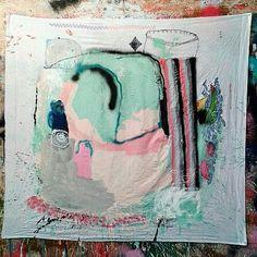 On old cloth 2015 120x114 cm. #marcopariani