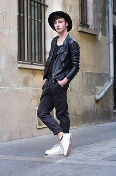 More looks by Alexandre Darnet: http://lb.nu/user/2442563-Alexandre-D  #guy #fashion #paris #blog #ootd