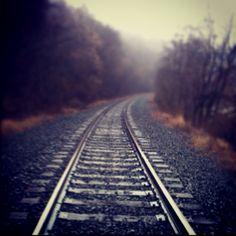 Train tracks of California, PA