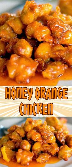 I just tried this Honey Orange Chicken recipe and it was wonderful. I love the h… I just tried this Honey Orange Chicken recipe and it was wonderful. I love the honey-ginger-orange juice combination. I would definitely try this again. Honey Orange Chicken Recipe, Easy Orange Chicken, Honey Chicken, Balsamic Chicken, Breaded Chicken, Boneless Chicken, Roasted Chicken, Recipe Chicken, Chicken Wontons