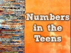 "Teen Numbers by Harry Kindergarten-- iI would change the lyrics so that ""numbers in the teens start with a but the beat is great! School Songs, Math School, School Stuff, School Daze, Teen Numbers, Math Numbers, Decomposing Numbers, Harry Kindergarten, Kindergarten Learning"