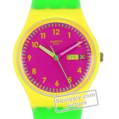 Swatch Green-Jelly GJ701 - 2013 Spring and Summer Collection