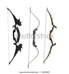 anime bow and arrow - Google Search