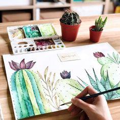 Cactus by @byjoeecheong more  3cactusmagazine #cactus