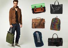 Canvas Side Bag Cotton Shoulder Bags Size: cm Weight: kg Fashion Bags, Mens Fashion, Fashion Beauty, Stylish Men, Men Casual, Mens Satchel, Canvas Shoulder Bag, Shoulder Bags, Hipster Man