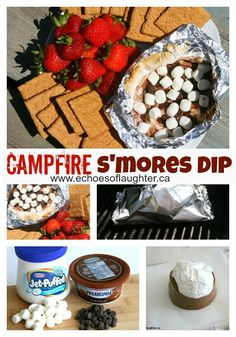 Campfire S'mores Dip-super easy and yummy!