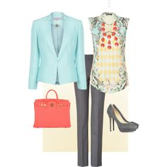 Spring Work Outfits | fashion spring outfits spring day work outfit created by boopie101 one ...
