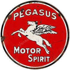 Distressed Pegasus Spirit Motor Oil, Large Aged Looking Aluminum Metal Sign, 3 Sizes Available, USA Made Vintage Style Retro Garage Art by HomeDecorGarageArt on Etsy Garage Art, Old Garage, Garage Signs, Industrial Shelving, Vintage Industrial, Industrial Apartment, Industrial Closet, Kitchen Industrial, Industrial Chair