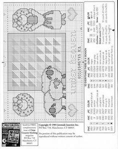 Patrones punto de cruz (solo country) (pág. 15) | Aprender manualidades es facilisimo.com