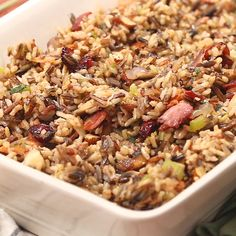 Ricearoni Recipes, Wild Rice Recipes, Cooking Recipes, Healthy Recipes, Parmesan Recipes, Garlic Parmesan, Dinner Recipes, Gluten Free Stuffing, Stuffing Recipes