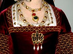 Wax figure of Jane Seymour at Madame Tussand's